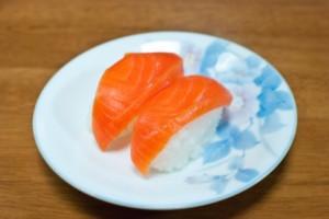 寿司サーモン