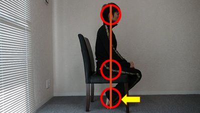 椅子足入れ