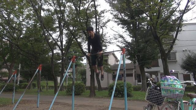 マッスルアップ公園